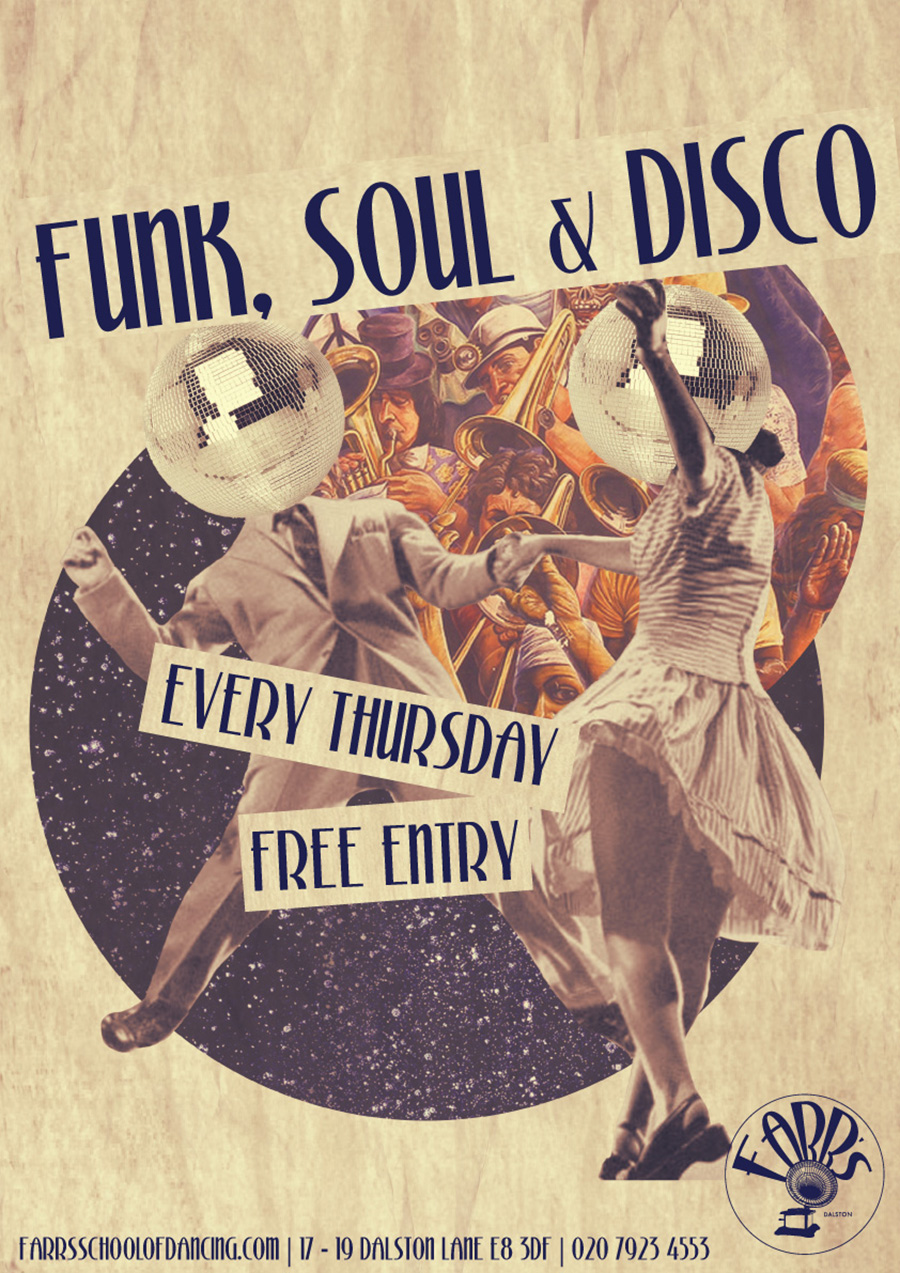 Funk, Soul & Disco