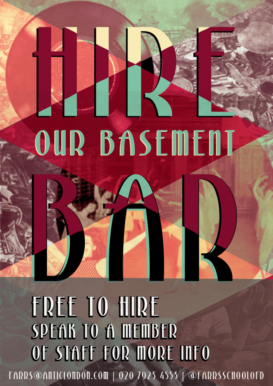 Book our Basement