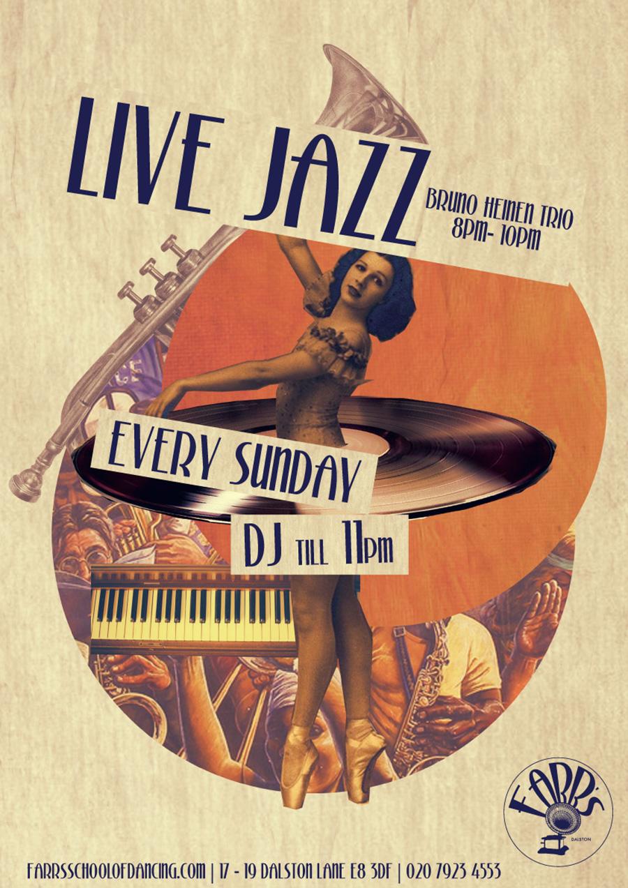 Live Jazz - Bruno Heinen Trio